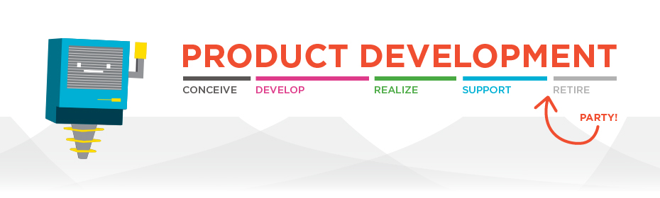 product development process, product developer, product engineer