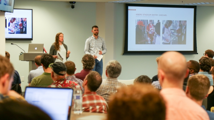Kate & Bret present on prototyping at the Hardware Workshop at Synapse Product Development